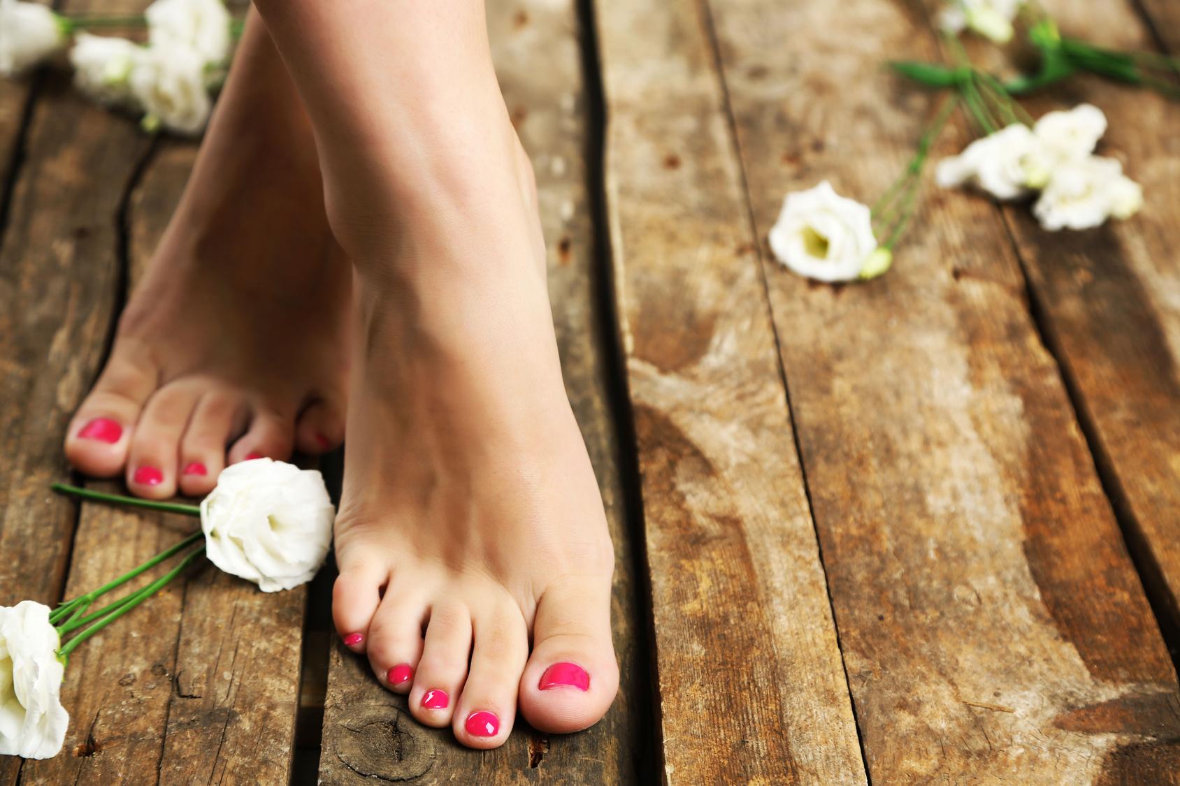 Os melhores cuidados para seus pés